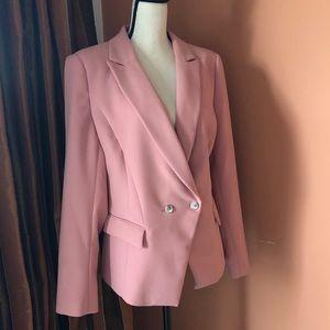 WHBM pink blazer